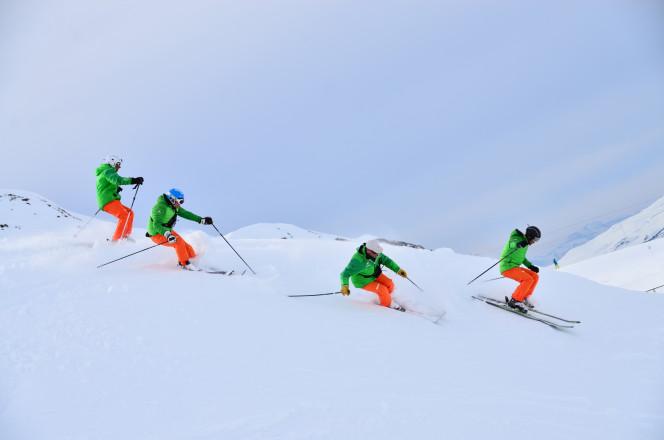 Equipe ski