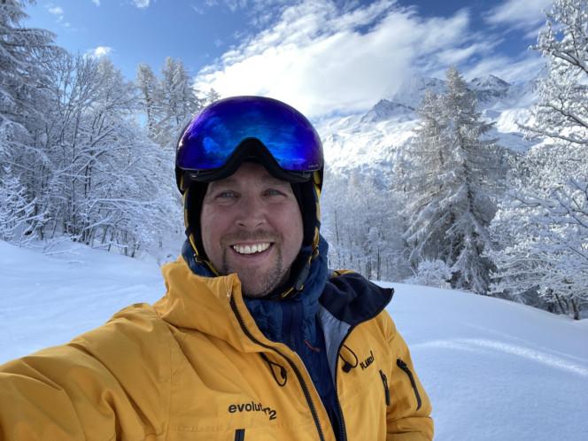 Sylvain/ moniteur de ski